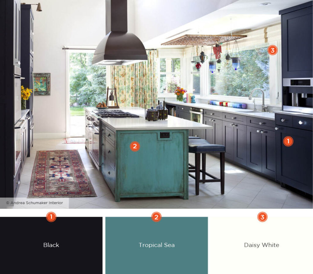 kitchen color schemes 8106